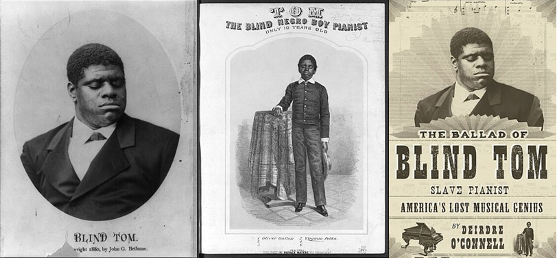 blind tom thomas greene wiggins bethune Ten-year-old piano prodigy and composer thomas greene wiggins bethune (1849-1908)  photograph of blind piano prodigy thomas greene bethune blind tom,.