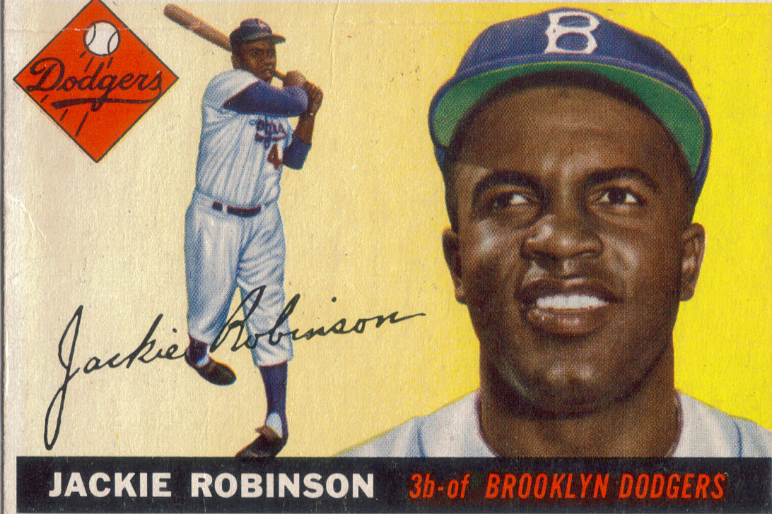 Jackie Robinson who broke baseballs color barrier with