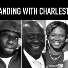 Standing with Charleston, SC.
