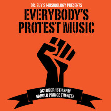 "Hear Why You Should Attend ""Everybody's Protest Music"" This Friday"