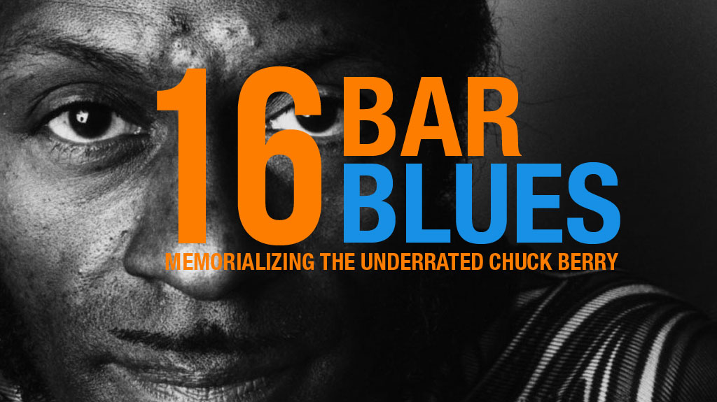 16 Bar Blues Memorializing The Underrated Chuck Berry Dr Guy
